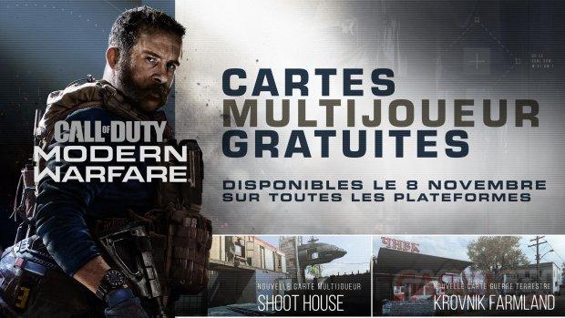 Call of Duty Modern Warfare maj 8 novembre