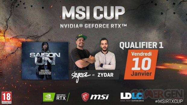Call of Duty Modern Warfare MSI Cup powered by NVIDIA Geforce RTX