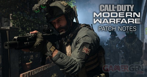 Call of Duty Modern Warfare patch notes 1 21