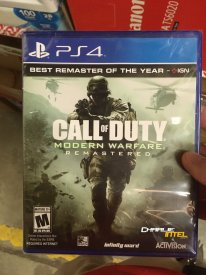 Call of Duty Modern Warfare Remastered leak 1