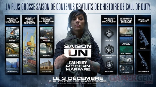 Call of Duty Modern Warfare Saison Un