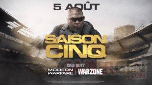 Call of Duty Modern Warfare Warzone 03 08 2020 Saison Cinq 5 key art
