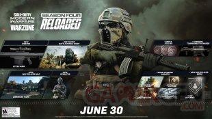 Call of Duty Modern Warfare Warzone 29 06 2020 Saison 4 Four Reloaded planning