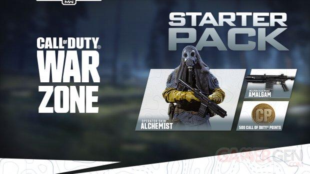 Call of Duty Modern Warfare Warzone 29 06 2020 Saison 4 Four Reloaded Starter Pack