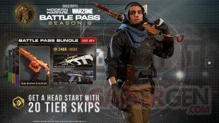 Call of Duty Modern Warfare Warzone Saison 6 Six 28 09 2020 Battle Pass bundle