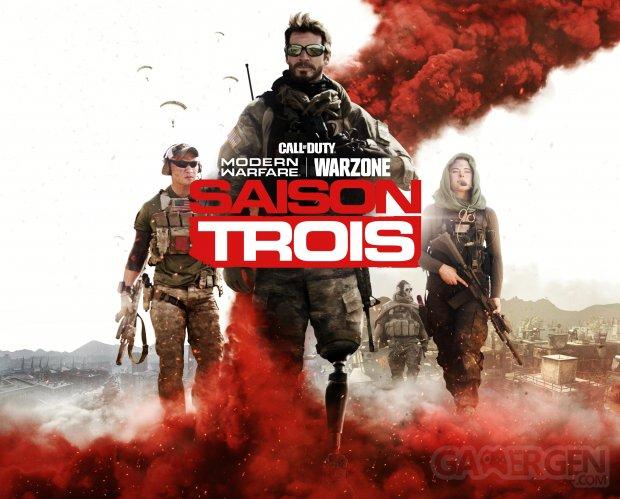 Call of Duty Modern Warfare Warzone Season 3 Trois