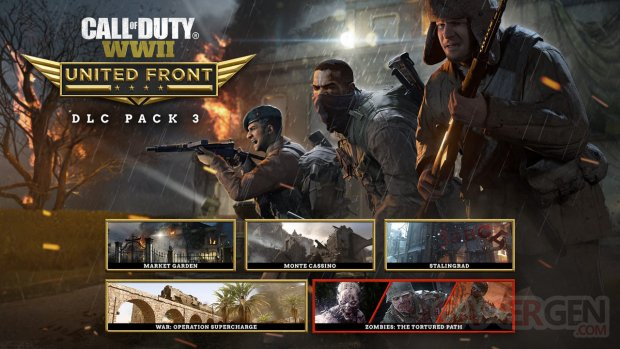 Call of Duty United Front Pack art