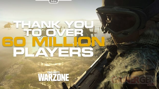 Call of Duty Warzone 60 millions