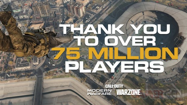 Call of Duty Warzone 75 millions