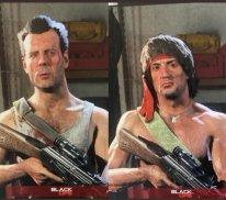 Call of Duty Warzone 80's Action Heroes artwork John Rambo McClane leak skin