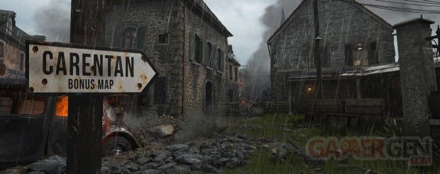 Call of Duty WWII Carentan bonus map