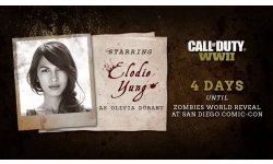 Call of Duty WWII Elodie Yung