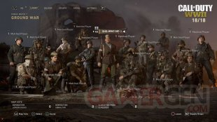 Call of Duty WWII Guerre de Territoire Ground War Mode Jeu