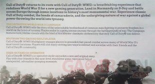 Call of Duty WWII leak texte