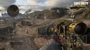 Call of Duty WWII Quartier Général Headquarter Carte Map