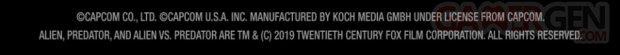 Capcom Arcade mentions légales 15 04 2019