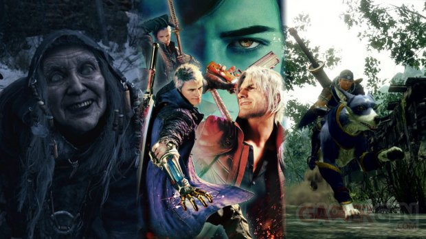 Capcom line up jeux 2020 head banner
