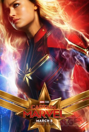 Captain Marvel poster 01 17 01 2019