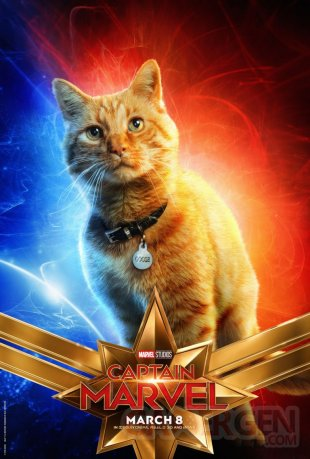 Captain Marvel poster 07 17 01 2019