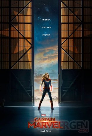 Captain Marvel poster 18 09 2018