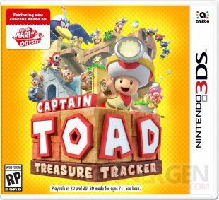 Captain Toad Treasure Tracker 3DS jaquette