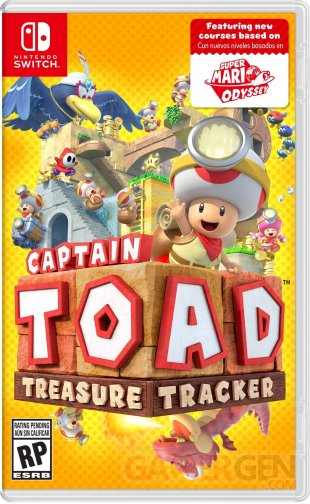 Captain Toad Treasure Tracker Switch jaquette