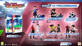Captain Tsubasa Rise of New Champions bonus précommande 26 05 2020