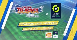 Captain Tsubasa Rise of New Champions collaboration Ligue 1 01 16 04 2021