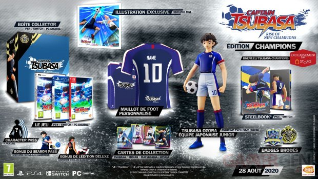 Captain Tsubasa Rise of New Champions édition Champions 26 05 2020