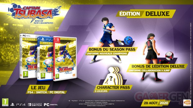 Captain Tsubasa Rise of New Champions édition Deluxe 26 05 2020