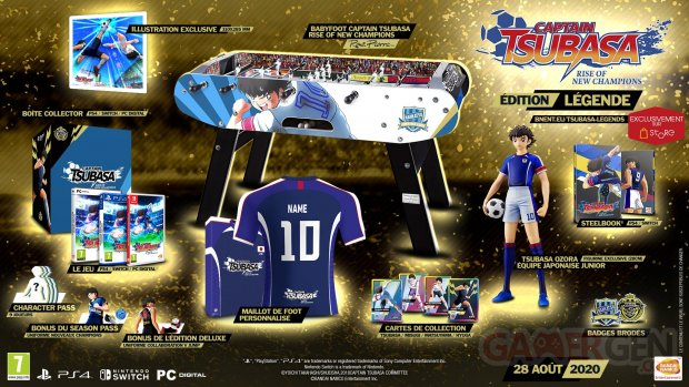Captain Tsubasa Rise of New Champions édition Légende 26 05 2020