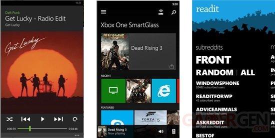 Capture Readit Smartglass Spotify
