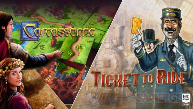 Carcassonne Ticket to Ride head