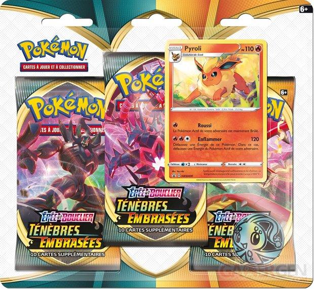 Cartes Pokemon Epée et Bouclier   Ténèbres Embrasées