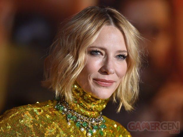 Cate Blanchett head