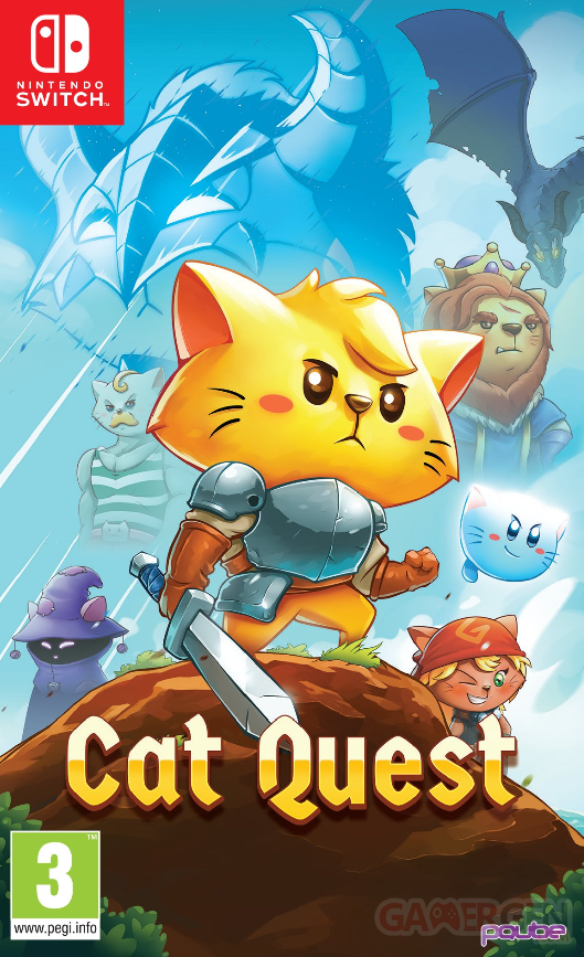 CatQuest Nintendo Switch PHYSICALLY