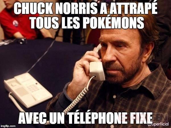 Chuck Norris Poke?mon GO