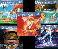 cinq jeux Dreamcast rush on game