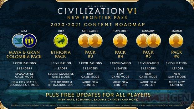 Civilization VI 11 05 2020 Pass Nouvelle Frontière New Frontier