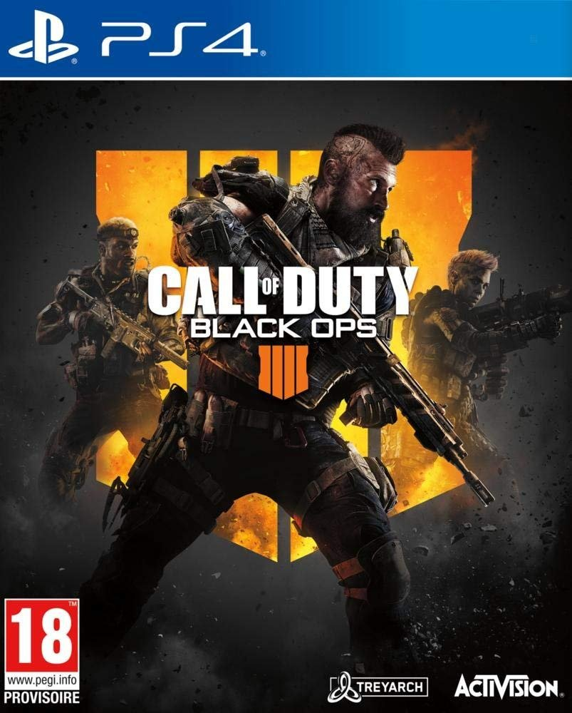 CoD BO IIII Call of Duty Black Ops IIII jaquette PS4