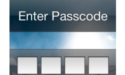 code iphone enter passcode