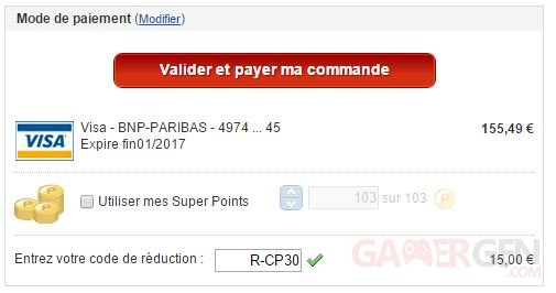 code reduction R CP30