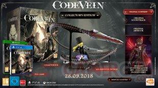 Code Vein édition collector 05 06 2018
