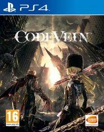 Code Vein jaquette PS4 05 06 2018