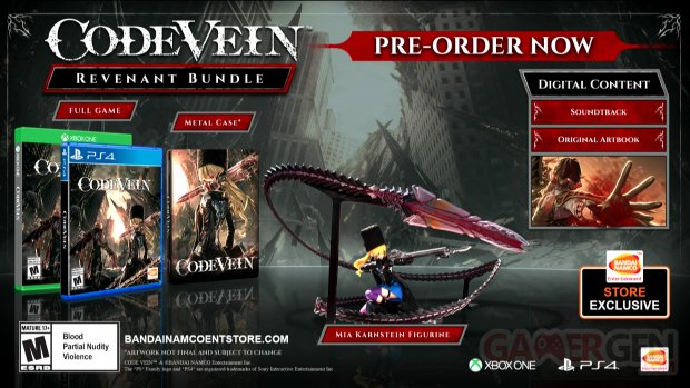 Code Vein Revenant Bundle