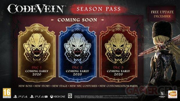 Code Vein Season Pass détails