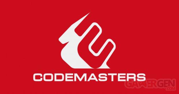 Codemasters logo head banner