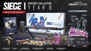 Coffret Collector Siege Year 6 Rainbow Six