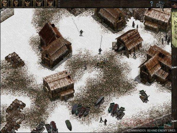 Commandos screenshot