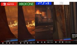 comparaison Doom Switch PS4 Xbox One PC